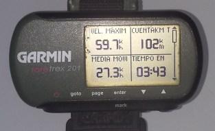 GPS Zalduendo 9 julio 2014